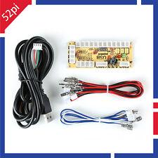Arcade Game DIY Parts for JAMMA MAME: Zero Delay PC USB Encoder+Wire Cables