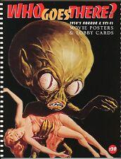 """WHO GOES THERE?"" 1950s MOVIE POSTER BOOK – THING – TARANTULA – GODZILLA  – NEW"