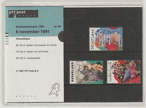 Netherlands 1991 #B659-61 Children Playing - MNH