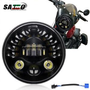 """7"""" Headlight LED Projector Turn Signal For Yamaha XSR900 FZR600 V Star 1100 650"""