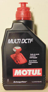 Motul Multi DCTF 1L For Dual Clutch Gearbox DSG VW Audi Skoda Mercedes Benz ZF