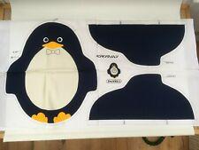 Floqué feutre résine standing penguin-noir et marron clair