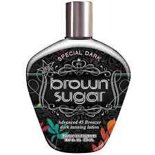 Brown Sugar Special Dark Sunbed Tannning Lotion Tan Accelerator Bottle 400ml