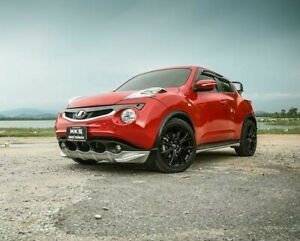 fits NISSAN JUKE 2011-15 front  body kit  painted  lip diffuser under spoiler
