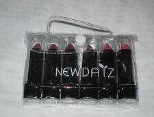 Confezione DA 6 NEW DAIZ rossetti MIX Tonalità Set regalo in un sacchetto NUOVO di zecca