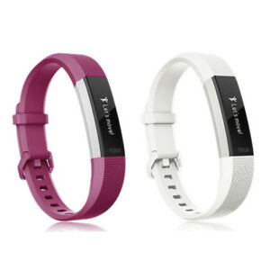 2-Pack Silicone Replacement Wrist Band Strap For Fitbit Alta & Alta HR Wristband