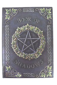Nemesis Now Embossed Book Of Shadows Pentagram Witch Wicca Journal Gothic Gift