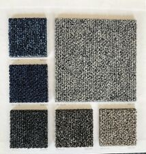 More details for brand new boxed alpha carpet tiles grey, black, red, blue - 20 tiles/5sqm £24.99