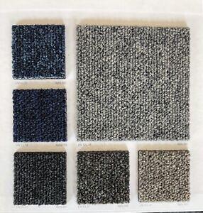 Brand New Boxed Alpha Carpet Tiles Grey, Black, Red, Blue - 20 tiles/5SQM £24.99