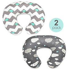 2PCS Newborn Baby Breastfeeding Pillow Cover Nursing Cotton Pillow Slipcover