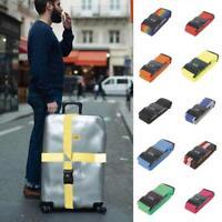 Verstellbares Reisegepäck Kofferschloss strapazierfähiges Gurtbandgepäck