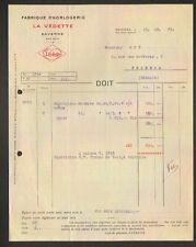 "SAVERNE (67) USINE d'HORLOGERIE ""LA VEDETTE"" 1925"