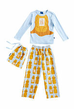 Peter Alexander Jnr Boys Honey Bear PJ Set Pyjamas Size 2 3 5 6 5