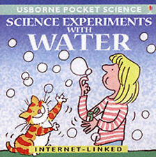 Science Experiments with Water (Usborne Pocket Science), Sam Rosenfeld, Used; Go