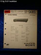 Sony Service Manual TA SA3ES Amplifier  (#0648)