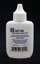 MICRO WOODWIND KEY OIL FOR KEYS & SPRINGS-PREVENTS RUST-SAVES ON COSTLY REPAIRS!