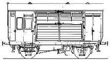Parkside Dundas PC79 -  GWR Horse Box Kit            (00)