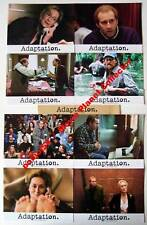 ADAPTATION - Cage - Streep - Cooper  Set of 8 FRENCH LC