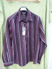 Shirt Mans. Mans Autograph. Size XXL linen/cotton.Colour berry. Long Sleeves. NE