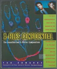 X-Files Confidential Ted Edward Little, Brown And Company 1996 Paperback Good