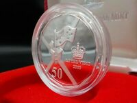 2000 Australia Royal Visit Fine Silver Proof Coin, RAM