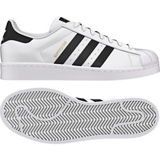 adidas Originals Superstar Men US 10 White SneakersPre Owned 2635 UK 9.5