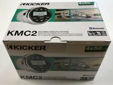 KICKER KMC2 - MARINE MULTI-MEDIA GAUGE STYLE RECEIVER - 4x50 WATTS PEAK POWER
