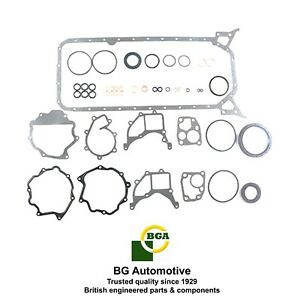 Block lower gasket set Mercedes Benz OM602 190D 300D 2.5L Sprinter 2.9L