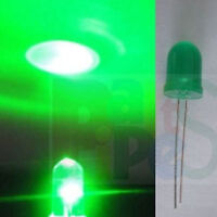 30pcs, 5mm Green Flash Flashing Water Clear LED,WGF5 ling