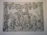Baccio BALDINI (1436-1487)? GRAVURE RENAISSANCE ARIANE BACCHUS FIRENZE ITALIE