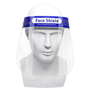 Full Face Shield Visor Protection Mask Sheild Safety Clear PPE UK