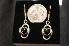 Handmade Natural Onyx Drop/Dangle Fine Earrings