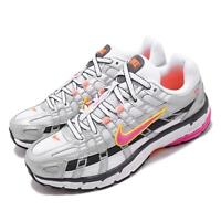 Nike Wmns P-6000 White Silver Fuchsia Womens Running Shoes Sneakers BV1021-100