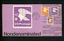 Ranto Cachet US FDC #1948 on 1818 w/ 1743 Domestic Mail Eagle postage 1981