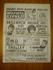 NME #943 1965 FEB 5 PROBY ANIMALS SHELLEY SEEKERS CLIFF