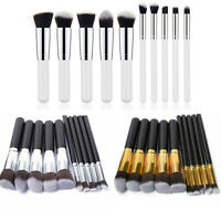 MAKE UP BRUSH SET 10pc PROFESSIONAL KABUKI BRUSHES FOUNDATION  BLUSHER FACE