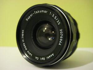 Pentax Super-Takumar 35mm F3.5, Pentax M42 Screw Mount Lens