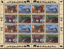 United Nations Vienna MNH Sc 214-17a Full sheet Endangered species