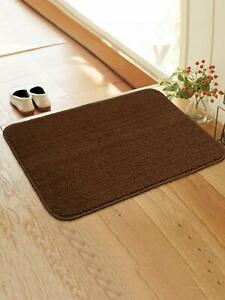 Brown Color Soft Anti slip Kitchen/ Door Mat With Latex Rubber Backing(45X65 CM)