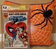 AMAZING SPIDER-MAN: ANNUAL 21 CGC 9.8 3X SS STAN LEE ROMITA MICHELINIE;NEWSSTAND