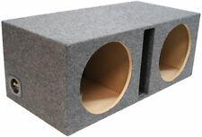 Car Audio Dual 15 Ported Subwoofer Box Bass Speaker Vented Sub Box Enclosure
