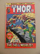 Thor 200 . Special Ragnarok Issue . Marvel 1972 . VG +