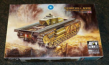 AFV Club WWII BRITISH CHURCHILL AVRE with SNAKE LAUNCHER  Tank Model Kit 1/35