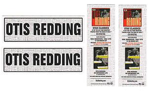 OTIS REDDING Stax Classics | An Unfinished Life Ltd Ed New RARE Bookmarks Set!