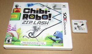 Chibi-Robo!: Zip Lash for Nintendo 3DS Fast Shipping