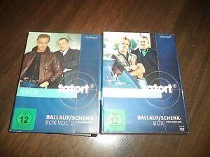 DVD    Tatort - Ballauf/Schenk   Box 1 & 2   die besten 7 Fälle