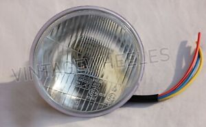 "FITS BSA BANTAM D7 D10 D14 B175 & C15 B40 HEAD LAMP HEADLIGHT 5 3/4"""