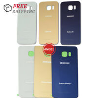New For Samsung Galaxy S6 / Edge / Plus Battery Door Back Glass Cover Housing