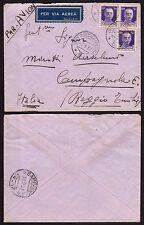STORIA POSTALE Guerra Spagna 1937 Lettera PA da UPS 6 a Campagnola Emilia (CS)