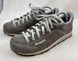 Scarpa Margarita Hiking Trail Shoe Men's 9.5 Women's 10.5 Grey